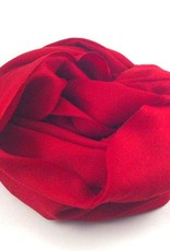 Flats Fine Cashmere Scarf- Red