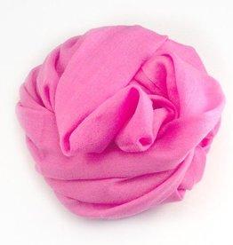 Flats Fine Cashmere Scarf- Bubblegum