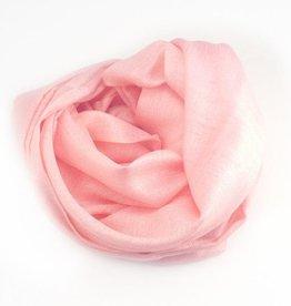 Flats Fine Cashmere Scarf- Light Pink