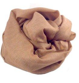 Flats Fine Cashmere Scarf- Copper