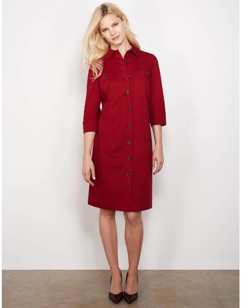 Winser London WL- Cotton Poplin Shirt Dress
