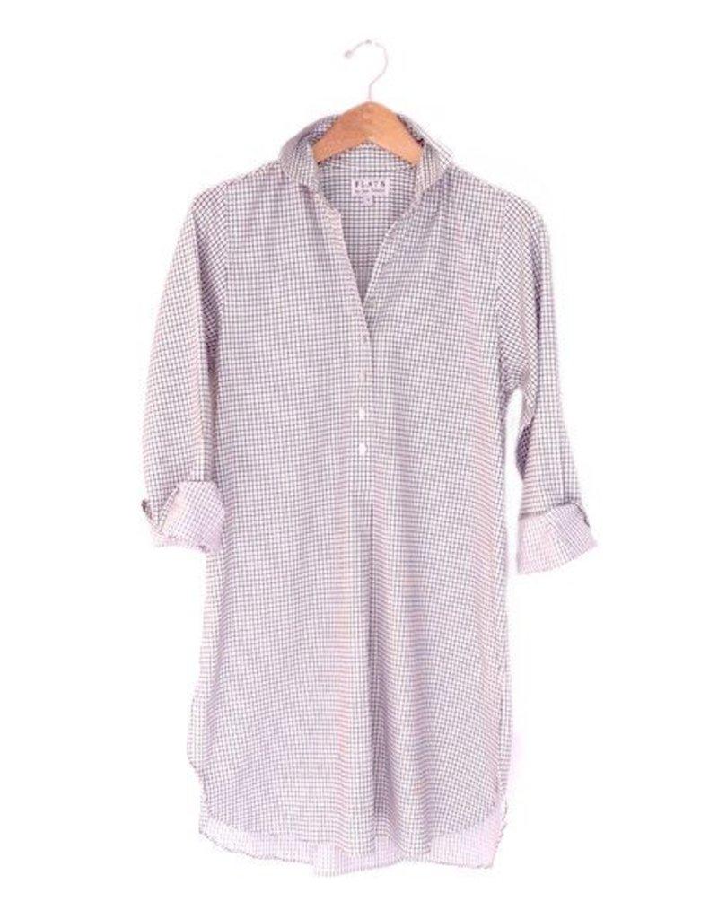 Flats Swiss Shirt - FIC- White/Black Check