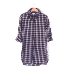 Flats Swiss Shirt - FIC- Blue/Grey Plaid