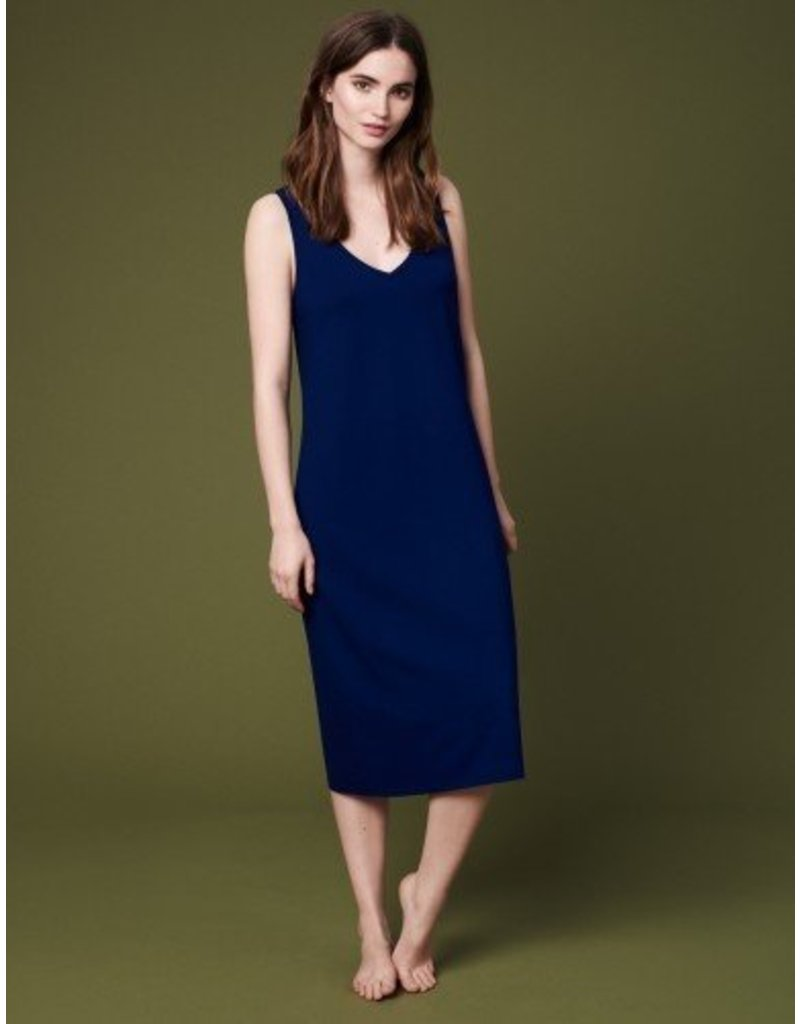 Winser London WL- Brigitte V Neck Jersey Dress