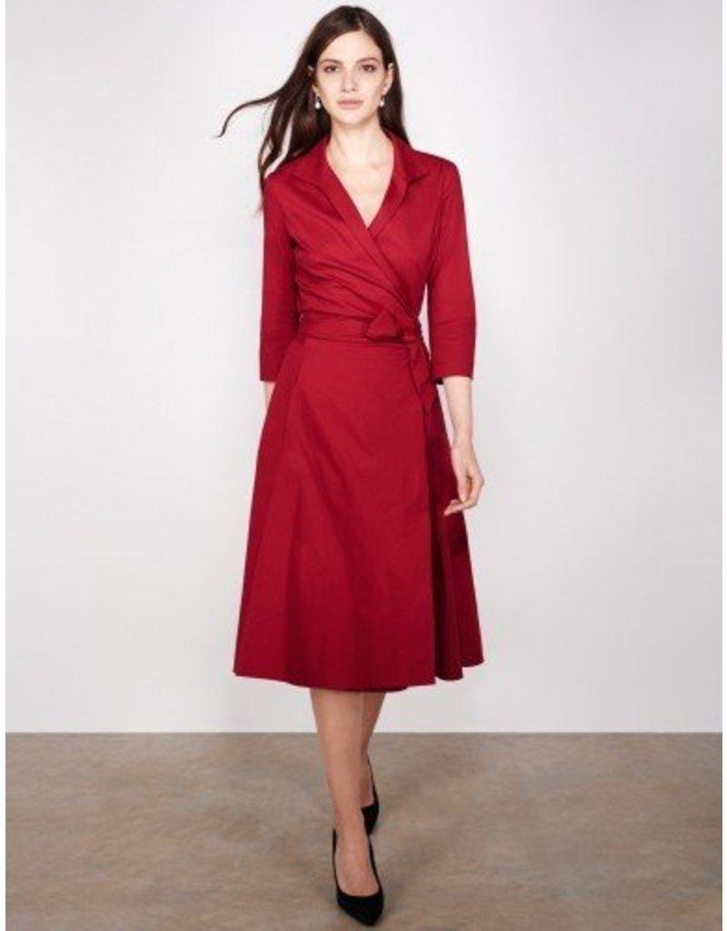 Winser London WL- Cotton Poplin Wrap Dress