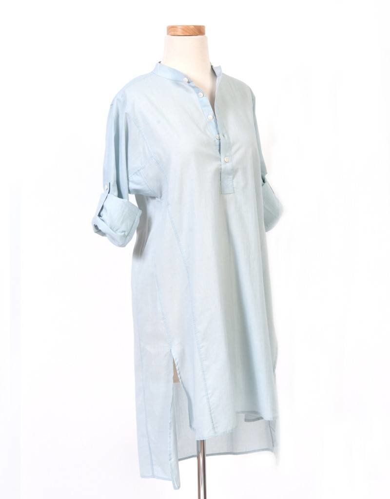 Flats Matisse Tunic- Ice Blue