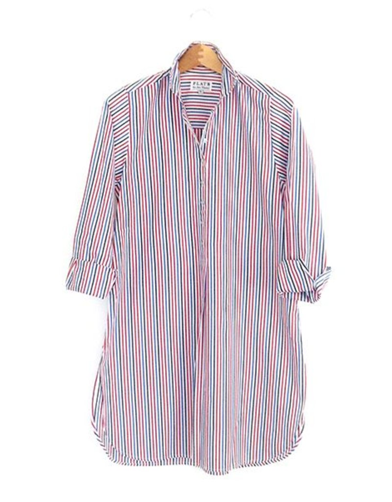 Flats Swiss Shirt - FIC- Red/White/Blue Stripes