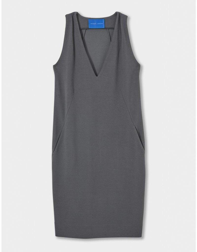 Winser London WL-Crepe Jersey Shift Dress