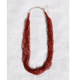 Anna Von Hellens AVH- #31 Garnet Necklace