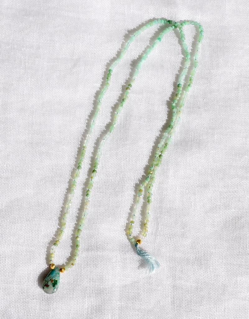 Anna Von Hellens AVH- #24 Chrysocolla Necklace