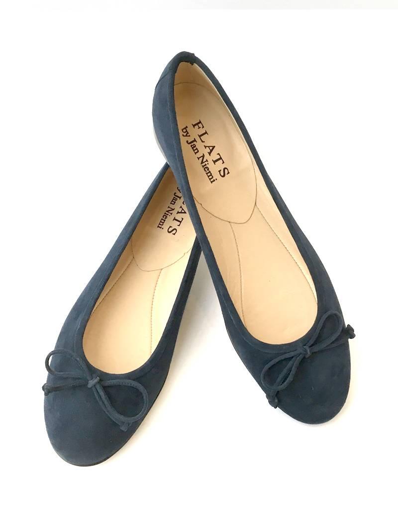 ALICE Ballerina- Suede Navy