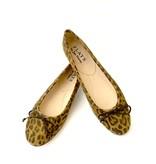 ALICE Ballerina- Suede Leopard