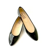 ALICE Ballerina- Patent Black Point Toe