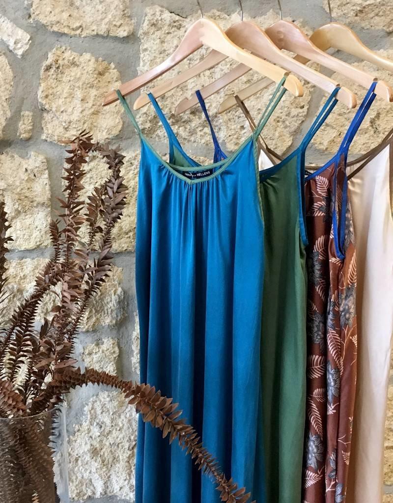 Anna Von Hellens AVH- AW16 Slip Dress Stone Washed Silk
