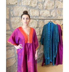 Anna Von Hellens AVH- Caftan Kanchipuram Silk #5