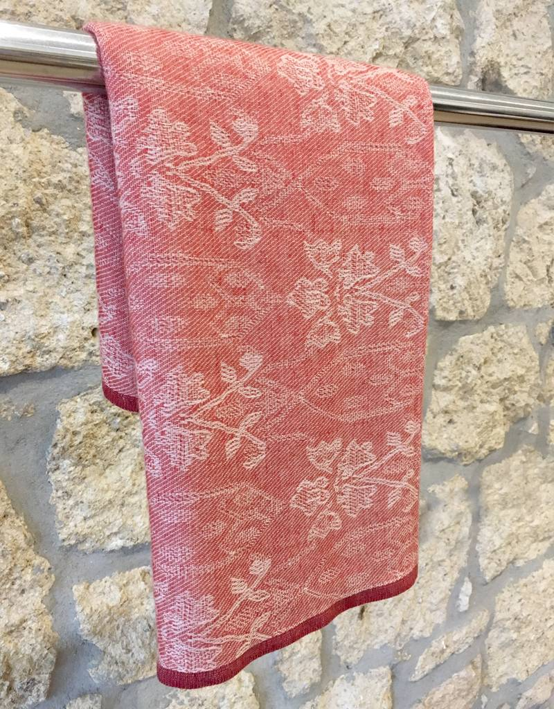 Himalayan Cashmere Company HCC- Complicated Jacquard- Chinese Red