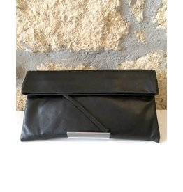 Gianni Chiarini GC-5235- Leather Clutch Black