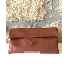 Gianni Chiarini GC-5235- Leather Clutch Rust