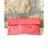Gianni Chiarini GC-5235- Leather Clutch Salmon