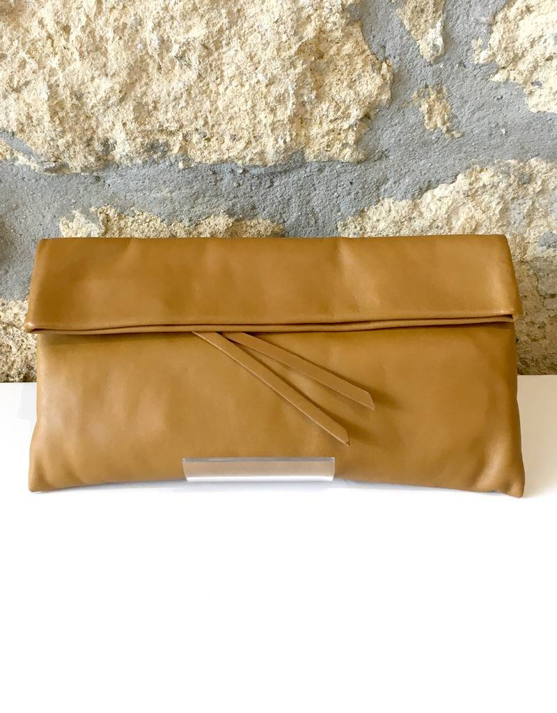 Gianni Chiarini GC-5235- Leather Clutch Ocher