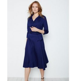 Winser London WL- Cotton Poplin Wrap Dress