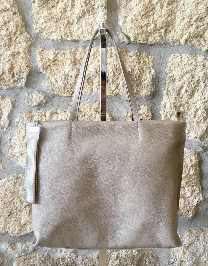 Gianni Chiarini GC- 5003- Tote Bag w/ Strap Sesame