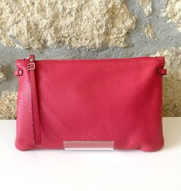 Gianni Chiarini GC- 3695- Flat Crossbody Red