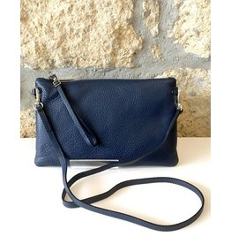 Gianni Chiarini GC- 3695- Flat Crossbody Navy