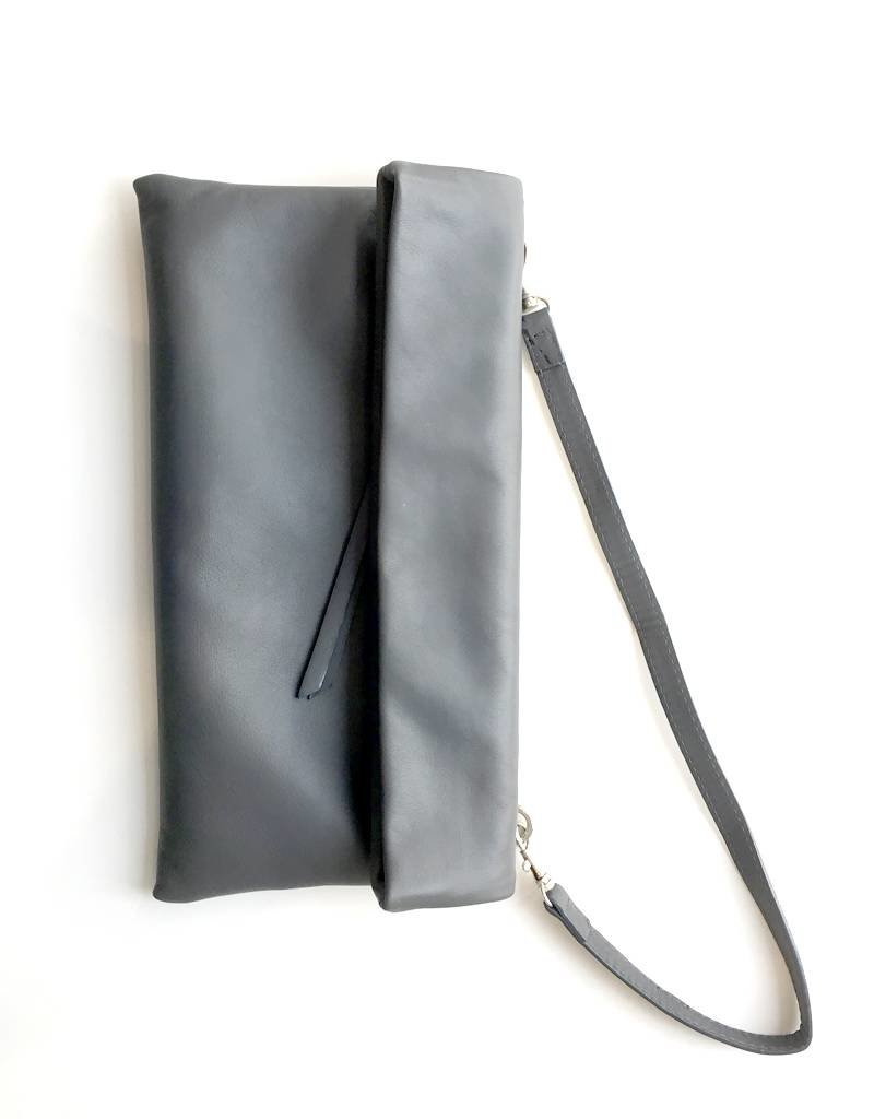 Gianni Chiarini GC-5235- Leather Clutch Black