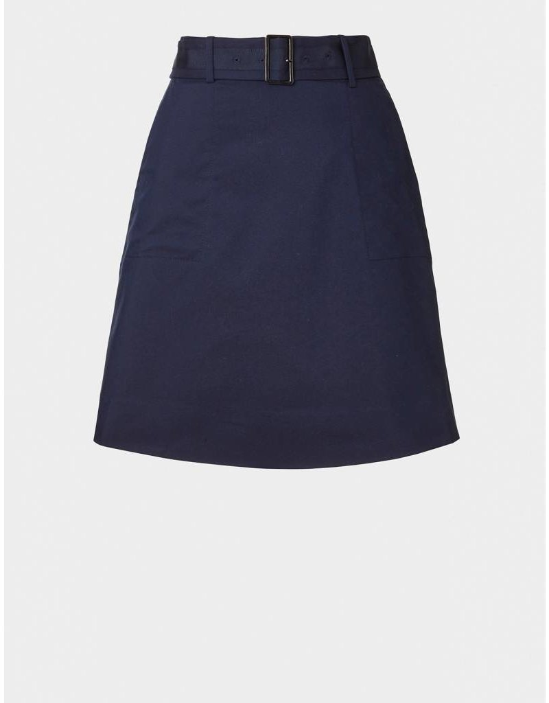 Winser London WL- Cotton Twill A Line Skirt