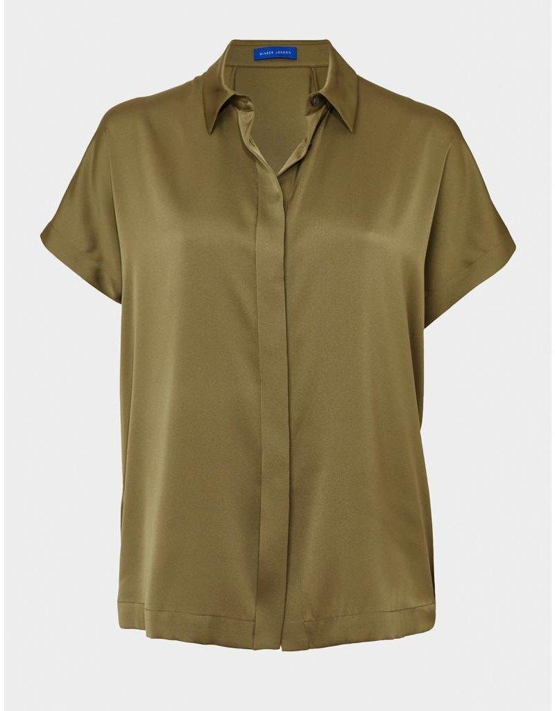 Winser London WL- Silk Short Sleeve Shirt