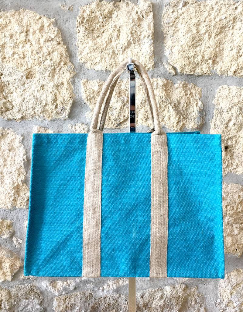 Flats Market Bag Blue