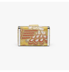 Hayward Box Clutch- Venetian Silk Brocade Gold