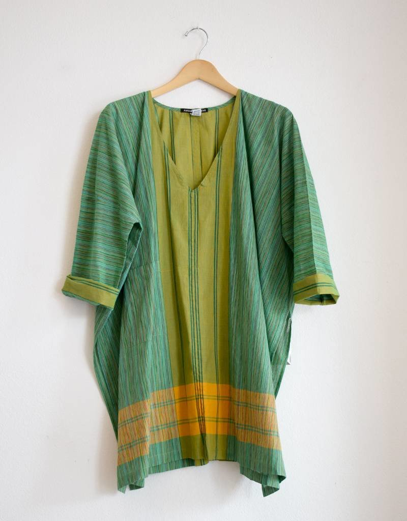 Anna Von Hellens AVH-SS17 Bombay Tunic Green