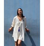 Anna Von Hellens AVH-SS17 Bombay Tunic Blue