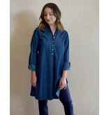Flats Swiss Shirt - Denim - Lightweight