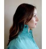 Flats Swiss Shirt Linen - SS17 Aqua
