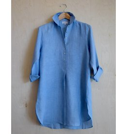 Flats Swiss Shirt Linen - SS17 Chambray