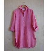 Flats Swiss Shirt Linen - SS17 Rosa