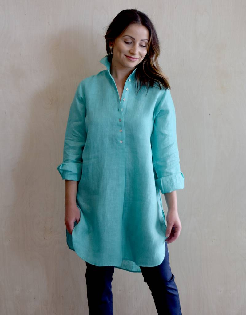 Flats Swiss Shirt Linen - SS17 Lilac