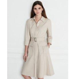 Winser London WL- Cotton Twill Dress w/ Pockets
