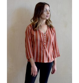Flats Amalfi Top Stripes