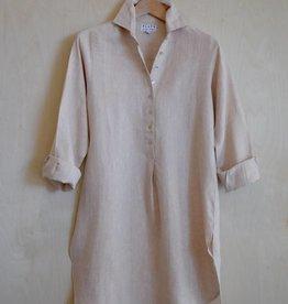 Flats Swiss Shirt Linen - SS17 Sand