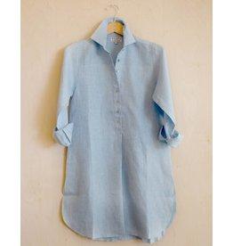 Flats Swiss Shirt Linen - SS17 Sky