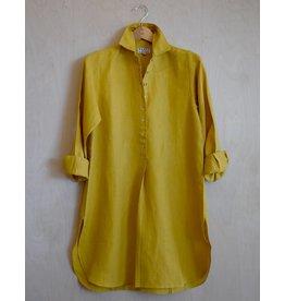 Flats Swiss Shirt Linen - SS17 Mustard