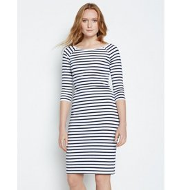 Winser London WL- Cotton Jersey Striped Dress