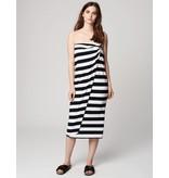 Winser London WL-Parisian Striped Wrap Skirt