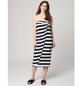 Winser London WL-Parisian Striped Wrap Skirt