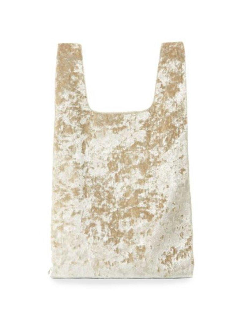 Hayward H Shopper- Gold Crushed Velvet