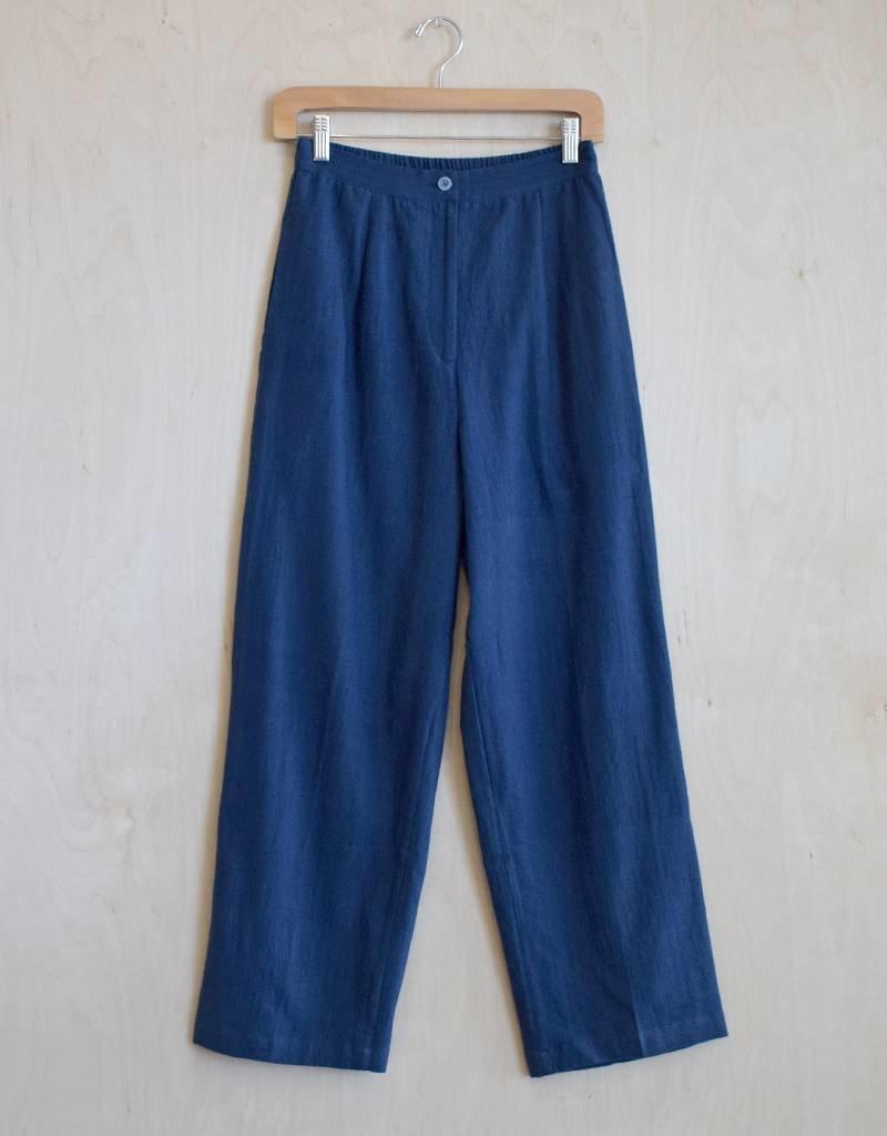 Flats Roma Pant Linen/Flax